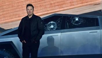 El Cybertruck futurístico de Tesla... ¿a prueba de balas?