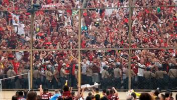 Así se vivió la fiesta de la Copa Libertadores en Lima