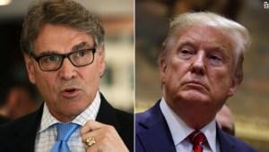 Rick Perry: Dios escogió a Trump como presidente