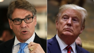 Rick Perry y Donald Trump
