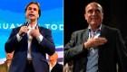 Pelea voto a voto entre Lacalle Pou y Martínez