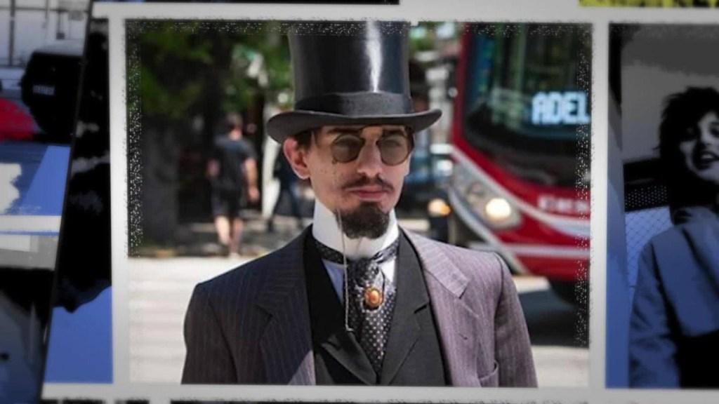 Un argentino que viste a lo victoriano