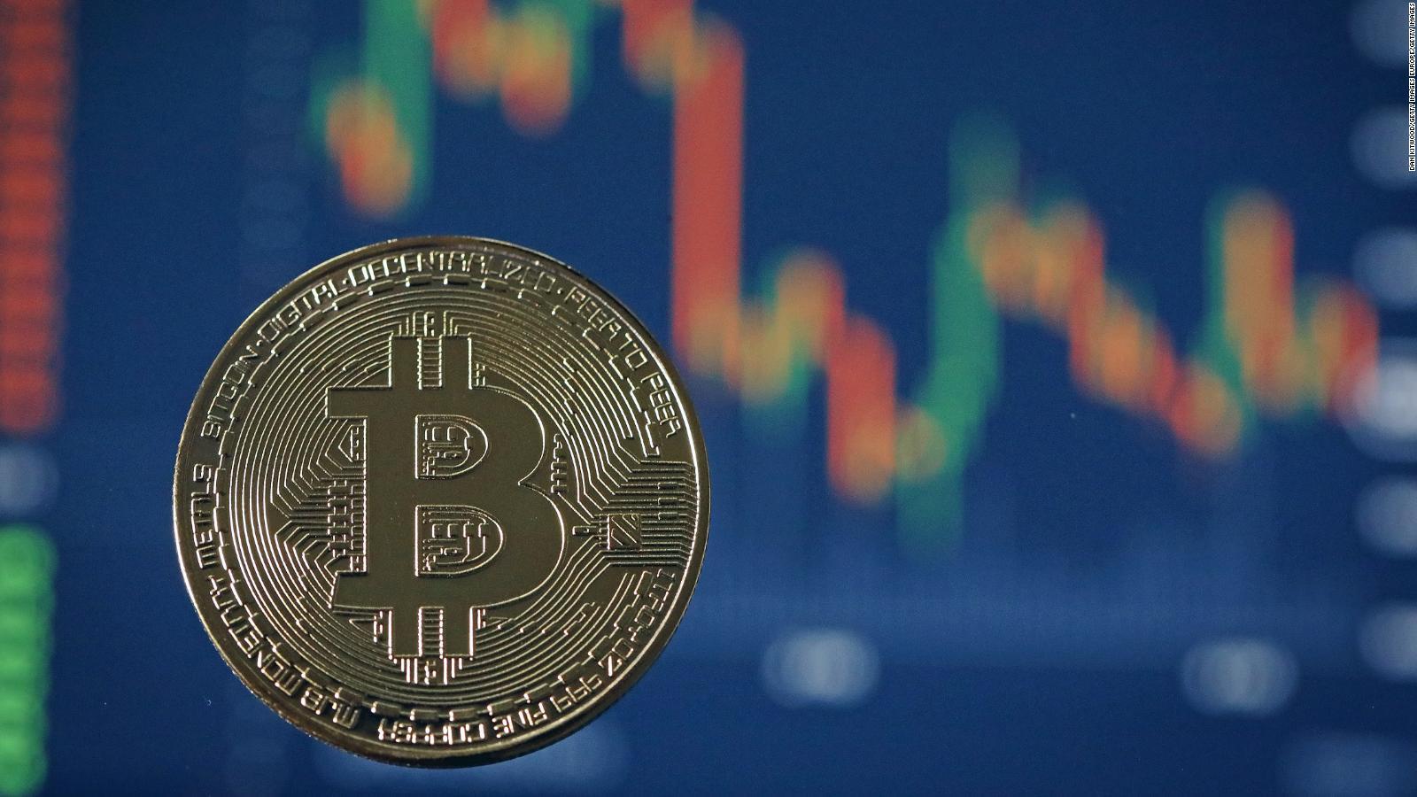 Bitcoin sufre caída 'relámpago' luego de una semana de furor para las criptomonedas