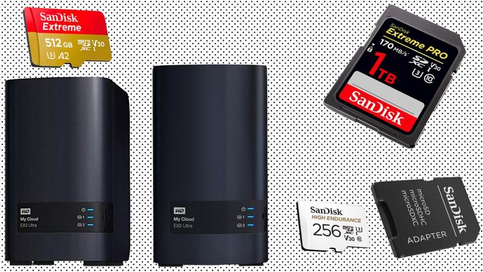 Las mejores rebajas en tarjetas SanDisk y discos WD