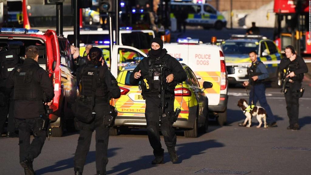 Reportan incidente en el Puente de Londres