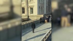 Vídeo muestra el incidente en el Puente de Londres