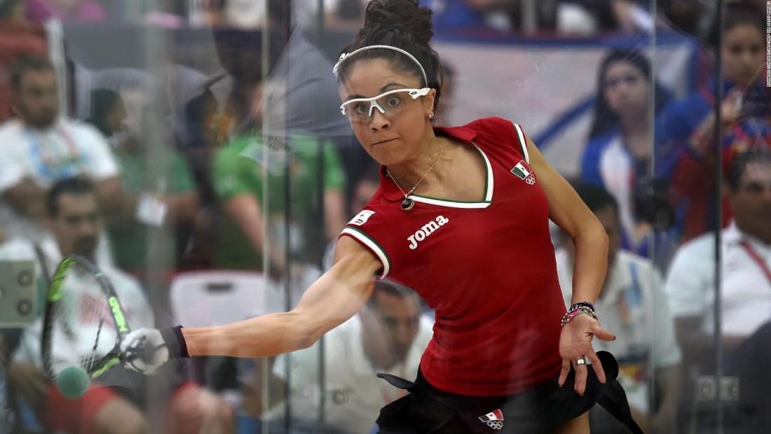Paola Longoria, entre las mejores 5 atletas del año