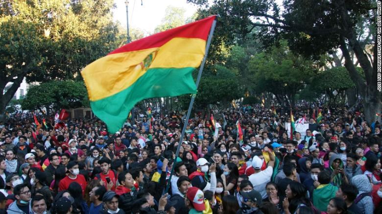 bolivia protestas evo morales elecciones