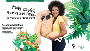 costa rica animales selfies turismo medio ambiente proteccion