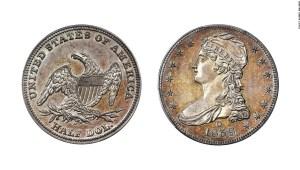 Moneda rara de medio dólar podría venderse por $ 500K