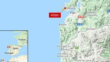 Mapa narcosubmarino 3 toneladas cocaína