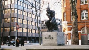Estatua 'robada' de Banksy podría costar 1,3 millones de dólares