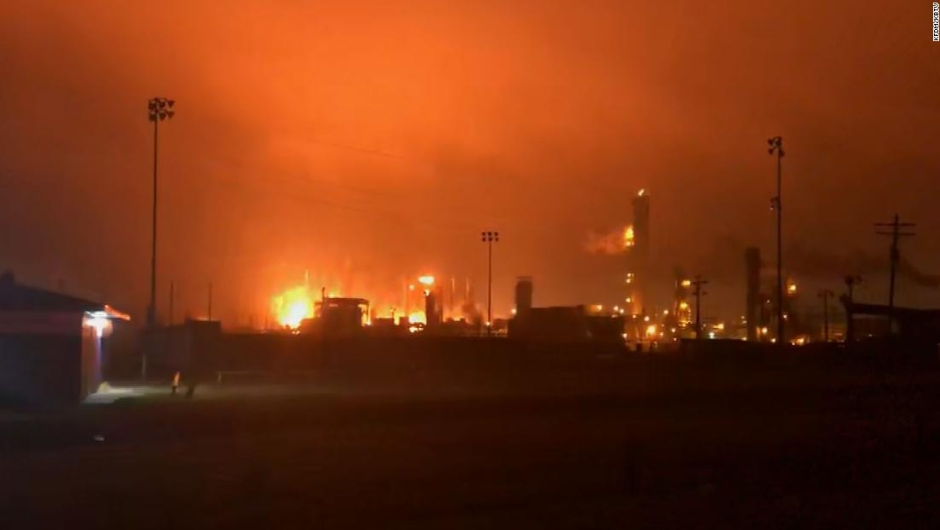 Explosión Texas