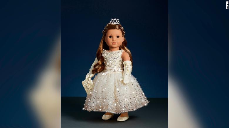 muñeca american girl swarovski cristales navidad empresa negocios