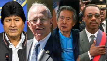 presidentes renuncia latinoamerica evo morales ppk fujimori