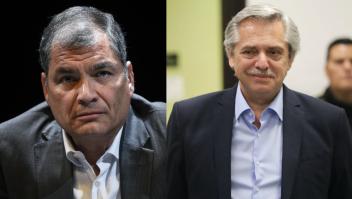 Alberto Fernández, Rafael Correa