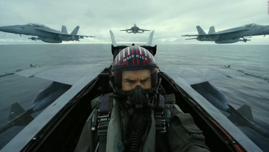 """Mira las escenas de la nueva película """"Top Gun"""""""