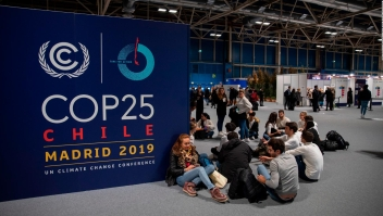 Jefes de Estado reunidos en la COP25