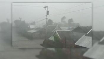 El poderoso tifón Kammuri azota a Filipinas