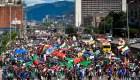 Hay protestas en Colombia a pesar del desarrollo económico