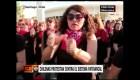 Mujeres usan la música y el baile para protestar