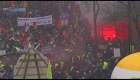 Francia: Protestas por reforma de pensiones se tornan violentas