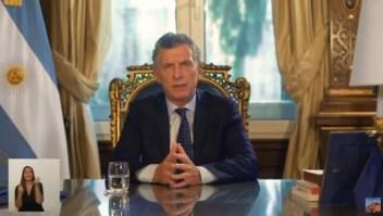 Macri: Lamento no haber podido ofrecer mejores resultados