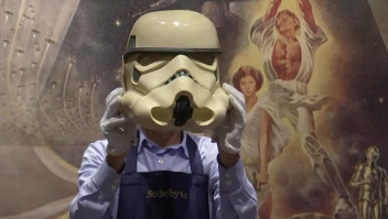 Sotheby's subasta objetos de colección de Star Wars