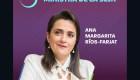 México: Ríos-Farjat es la nueva ministra de la Suprema Corte de Justicia
