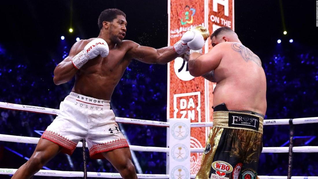 Ruiz no pudo retener su título de pesos pesados