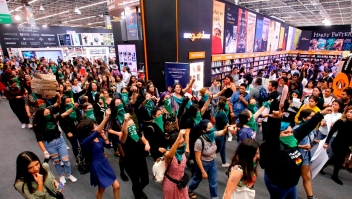 El feminismo resuena en la Feria del Libro de Guadalajara
