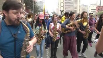 Músicos colombianos se manifiestan contra las políticas de Duque