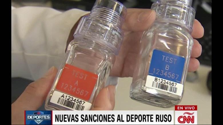WADA castiga a Rusia por escándalo de dopaje