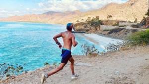 Corrió maratones en todos los países en menos de dos años
