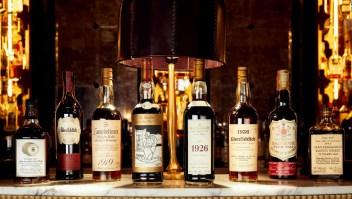 A subasta una exclusiva colección de whisky