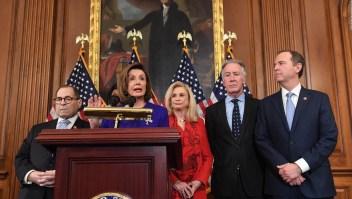 Acusan a Trump de abuso de poder y obstrucción al Congreso