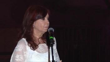Cristina F. de Kirchner en su regreso: Fueron años duros