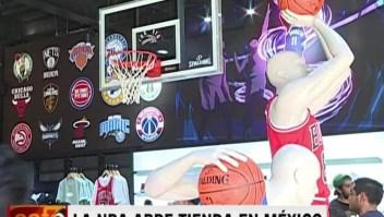 La NBA abre tienda en México
