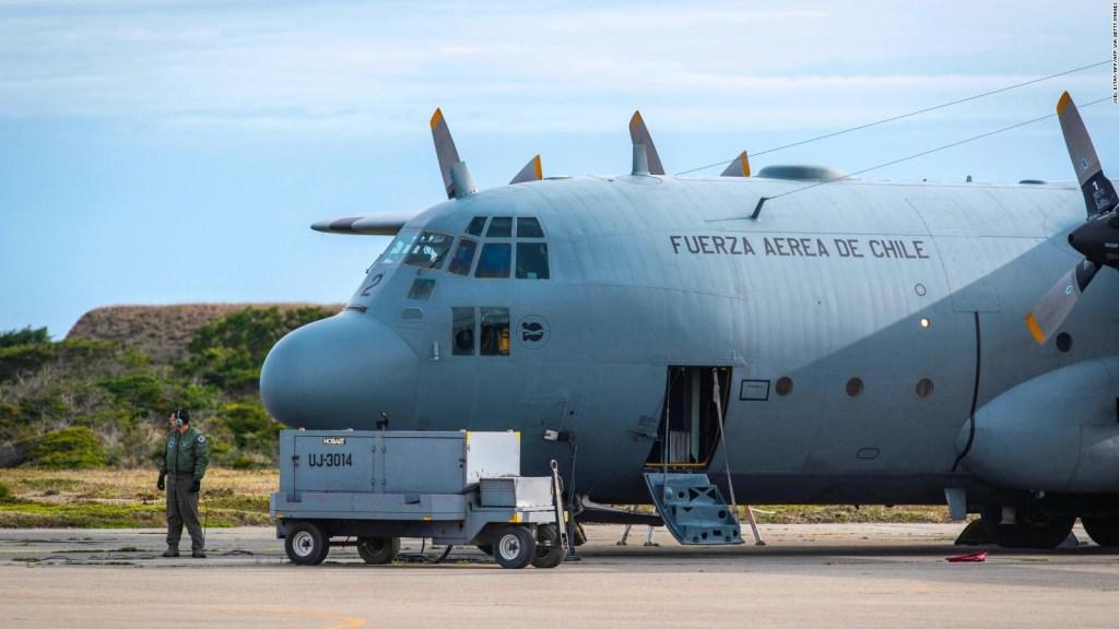 Continúa la búsqueda de avión chileno desaparecido