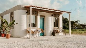 Vea la primera comunidad de casas impresas en 3D