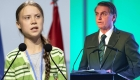 "Bolsonaro llamó ""mocosa"" a Greta Thunberg"