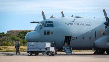 ¿Qué pasó con el avión chileno en la Antártida?