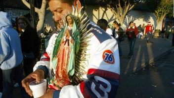 La celebración de la Virgen Morena en Los Ángeles
