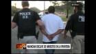 Disminuyen los arrestos en la frontera