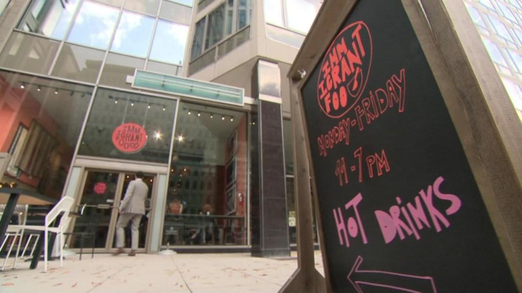 Inmigrantes inspiran restaurante cerca de la Casa Blanca