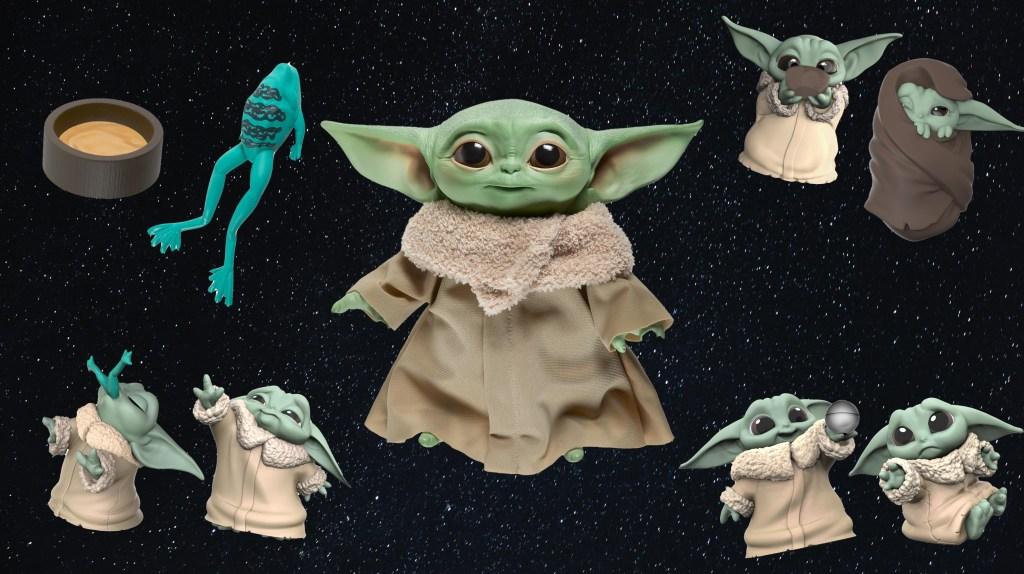 """Los nuevos """"Baby Yoda"""" de Hasbro"""