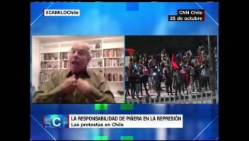 Hirsch reseña el por qué de las protestas en Chile