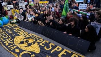 Manifestantes están insatisfechos tras el fin de la COP25