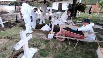 Colombia trabaja para determinar si los cuerpos en fosa común son falsos positivos