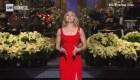 Scarlett Johansson le juega broma a su prometido en la TV